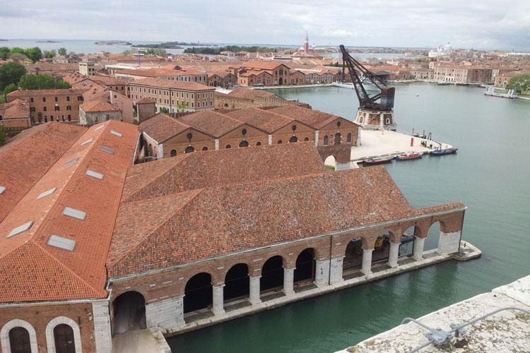 Free guided tours of the Arsenale