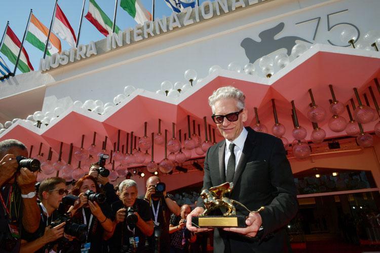 David Cronenberg Golden Lion for Lifetime Achievement