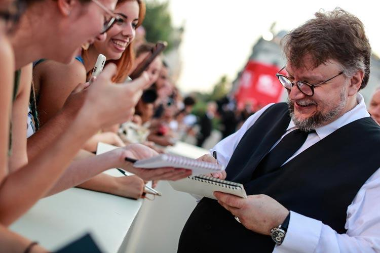 Guillermo del Toro President of the Venezia 75 International Jury