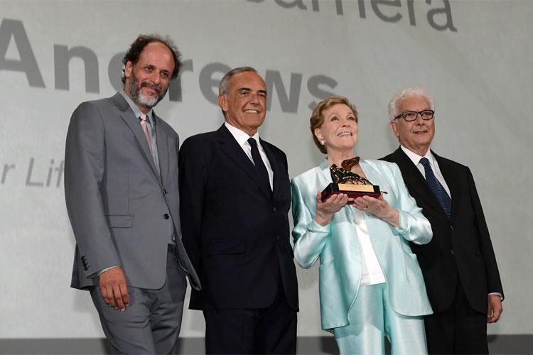 Julie Andrews Leone d'Oro alla carriera