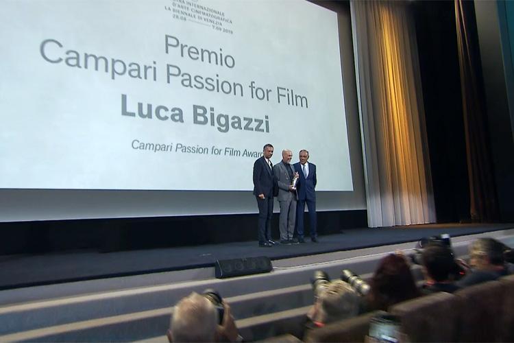 Al direttore della fotografia Luca Bigazzi il premio Campari Passion for Film