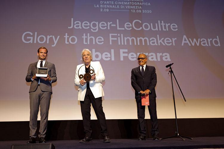 Ad Abel Ferrara il premio Jaeger-LeCoultre Glory to the Filmmaker 2020