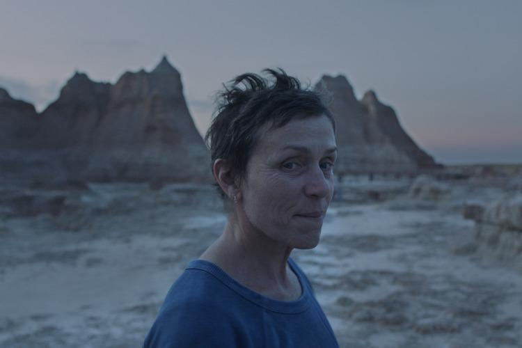 Nomadland by Chloé Zhao at the Biennale Cinema 2020 and at the major Fall Film Festivals
