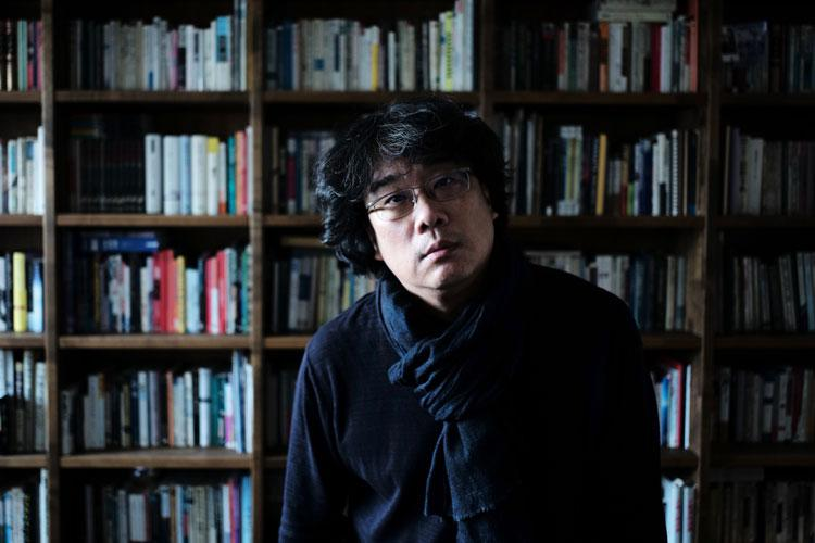 Director Bong Joon Ho President of the Venezia 78 international jury