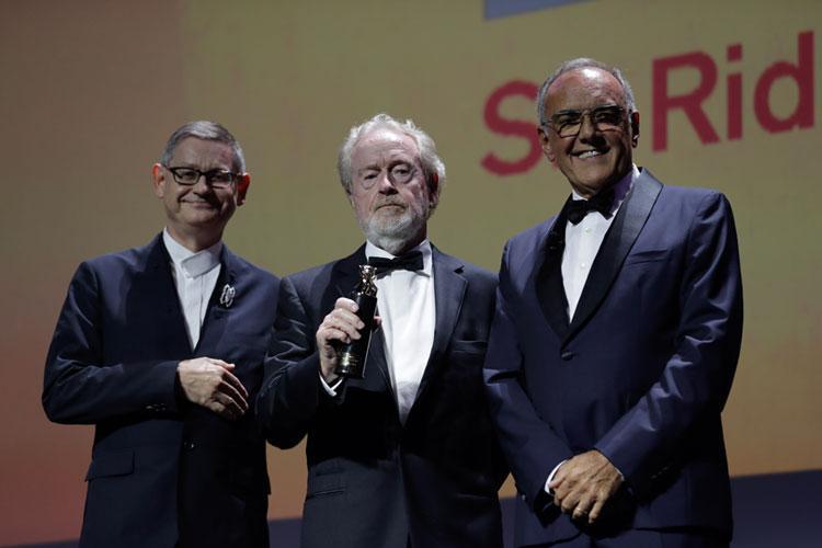 A Sir Ridley Scott il premio Cartier Glory to the Filmmaker