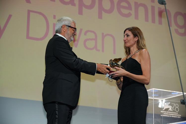 Official awards of the 78th Venice Film Festival