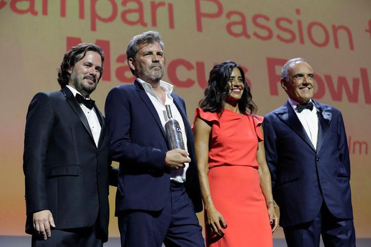 A Marcus Rowland il premio Campari Passion for Film 2021