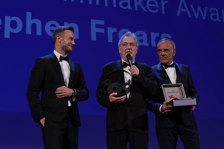 Stephen Frears receives the Jaeger-LeCoultre award